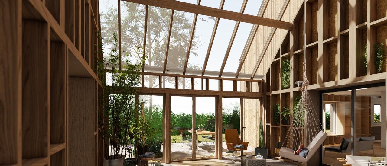 XOLF : Habitat groupé participatif pour 2 familles à Préaux (76)