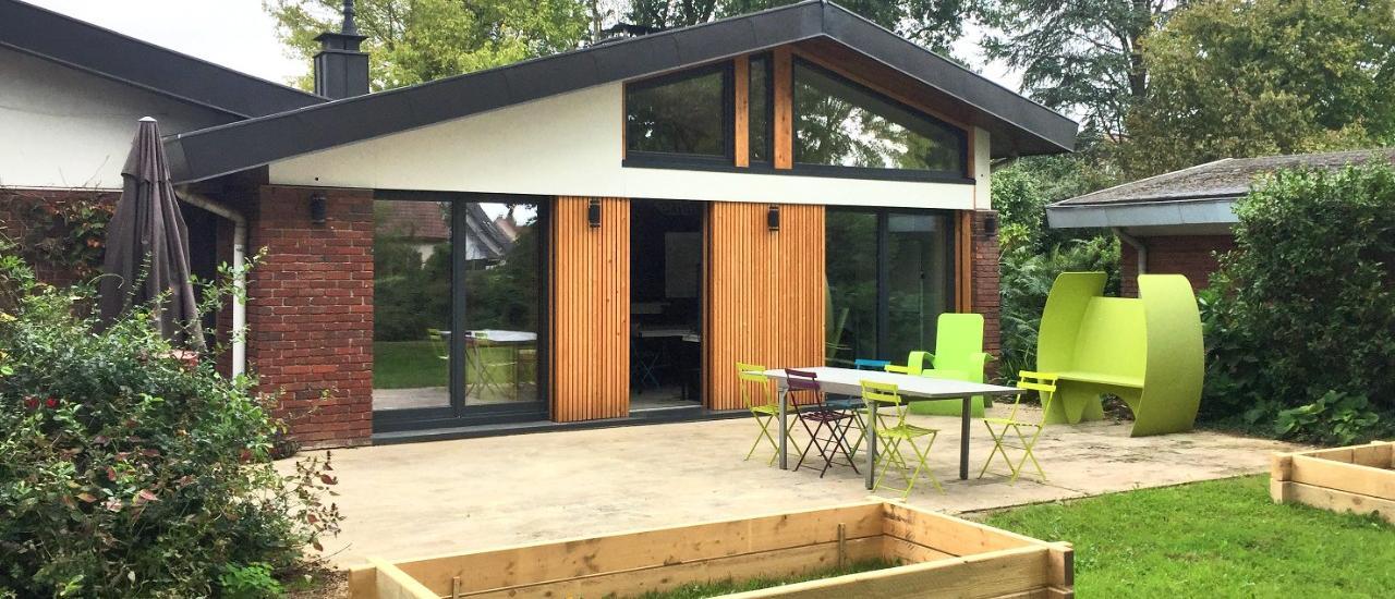 Transformation d'une maison d'habitation en bureaux BBC (76)
