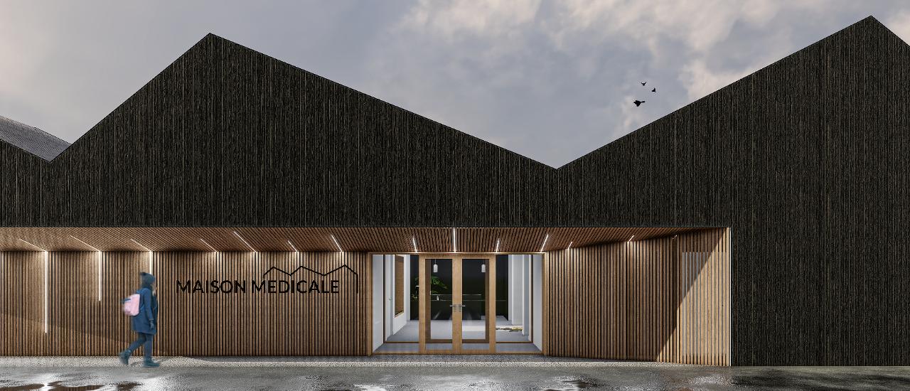 Éco-construction bois et enveloppe biosourcée pour une maison médicale (27)