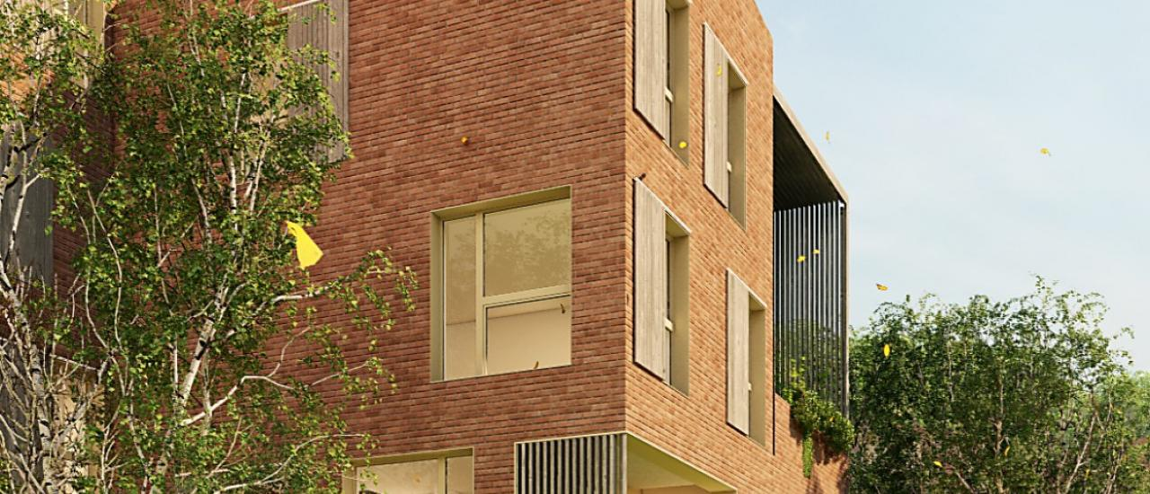 'Another Brick in The Wall' Ensemble locatif BEPOS en collectifs + intermédiaires