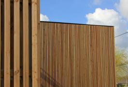 Extension contemporaine d'un pavillon à Bourdainville (76)