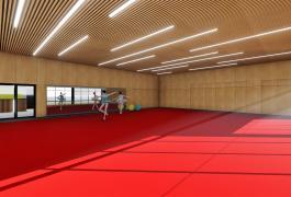 Gymnase et salle multi-activités à Digosville (50)