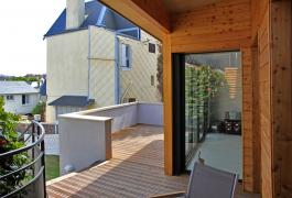 Agrandissement ossature bois d'une maison de caractère - Le Havre  (76)