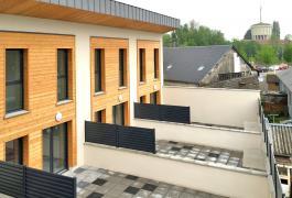 Bureaux et quatre logements locatifs en duplex à Yvetot(76)