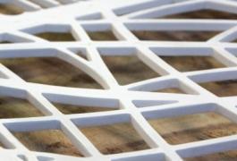 Théâtre des Bains Douches / design des grilles et de l'enseigne