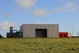 Local commercial et atelier de charpente/menuiserie à Sasseville (76)