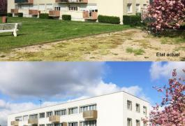Réhabilitation d'un immeuble de 10 logements de Gendarmerie (76)