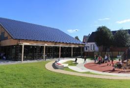 Restaurant scolaire Basse Consommation à La Neuville Chant d'Oisel (76)